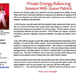 Private Energy Balancing